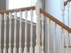 Plank oak tradition -painted spindles