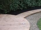 Cedar Wood Decking